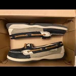 Sperry Shoes - Navy Blue/Cream Sperry